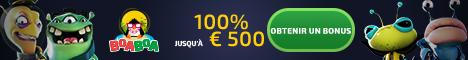 BoaBoa Casino 500$/€ de Bonus + 200 tours gratuits