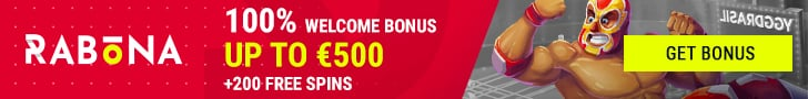 Get a €500 Welcome Bonus + 200 Spins at Rabona Casino